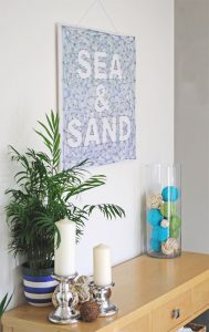 string art Sea and Sand