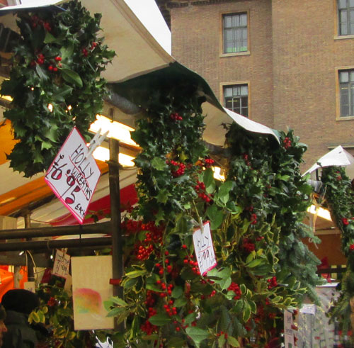 holly wreaths cambridge market