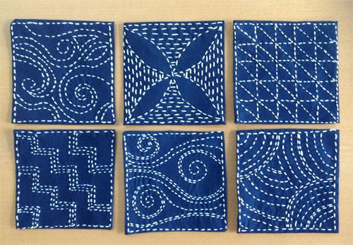 sashiko squares