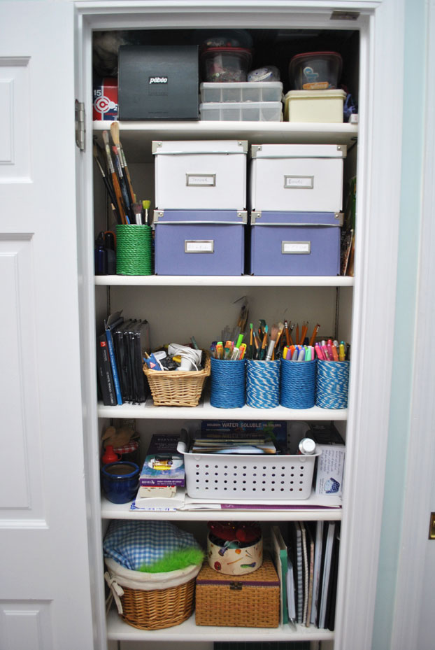 art supply closet