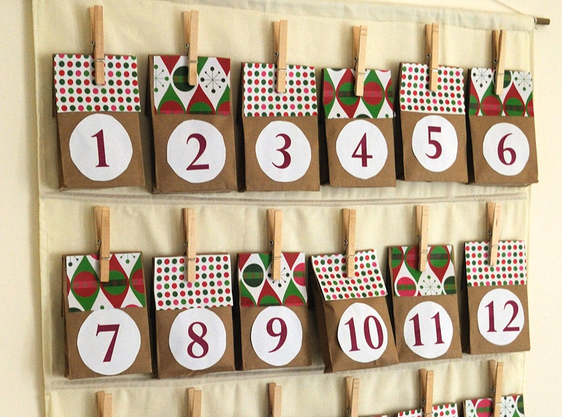 Make Your Own Diy Advent Calendar