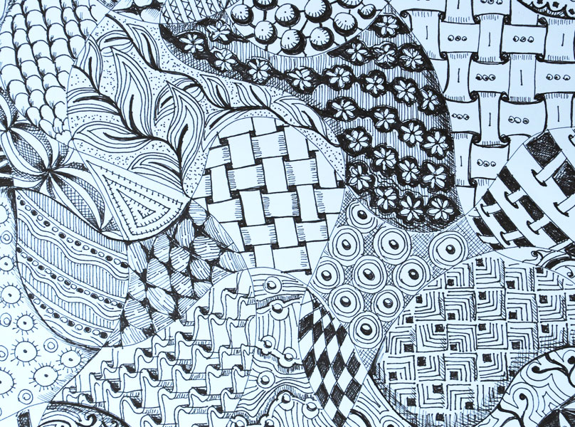 Zentangle The New Name For Doodling