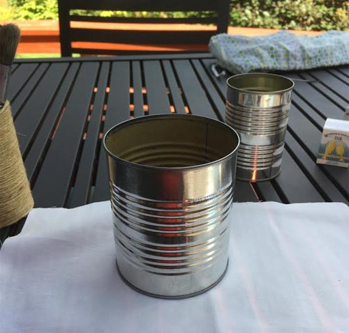 tin can art project