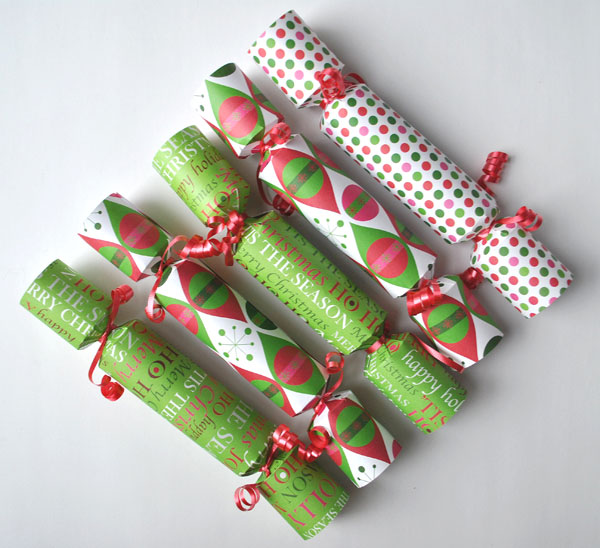 gift wrap christmas cracker