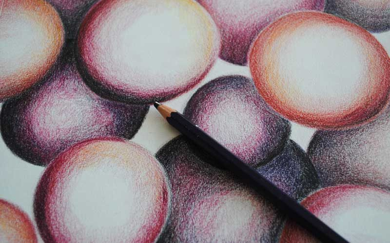 inktense color pencils orbs