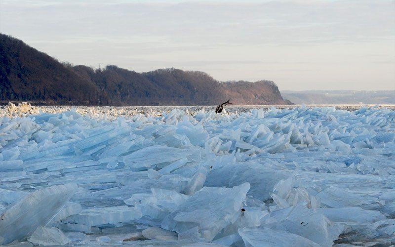 susquehanna river ice jam