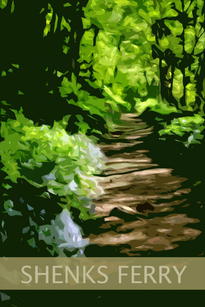 Shenks ferry poster pa