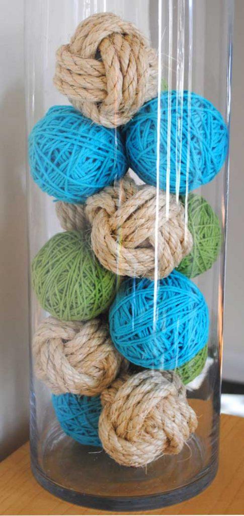 yarn decorative balls