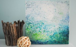 palette knife absract painting