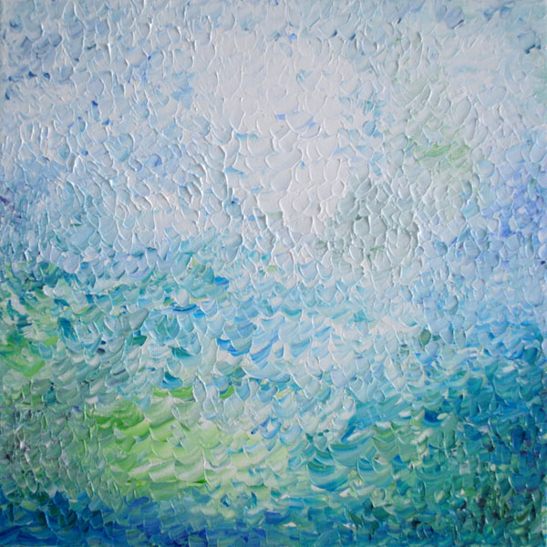 palette knife abstract