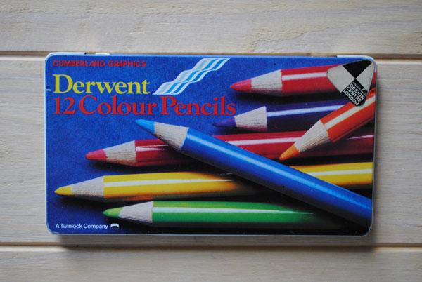 derwent 12 coloured pencils