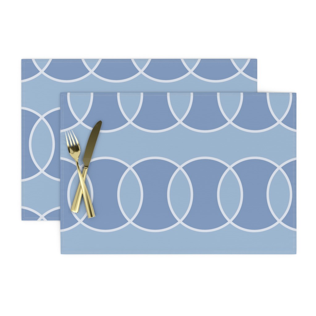 bubbly placemat