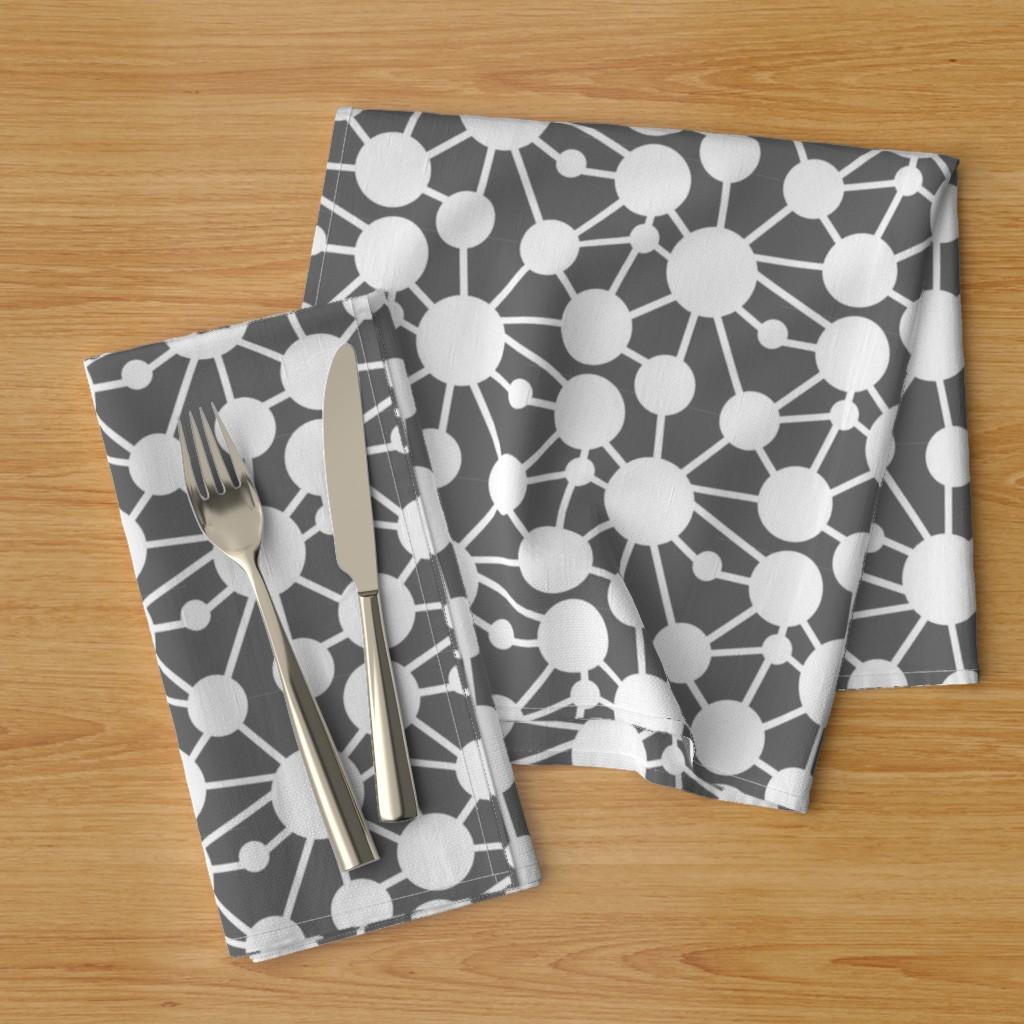 connect circles napkins