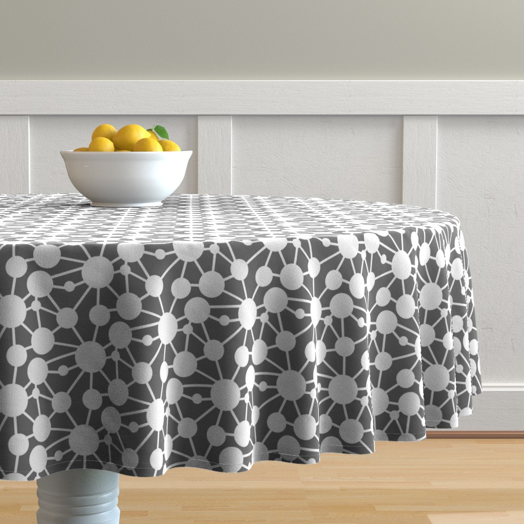 connect circles table cloth