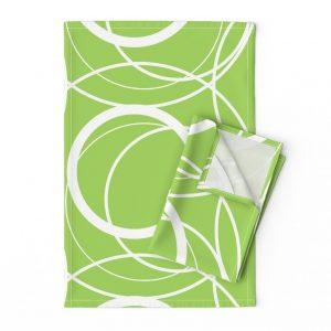 contemporary tea towel
