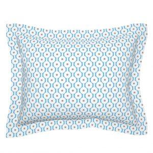flanged pillow sham