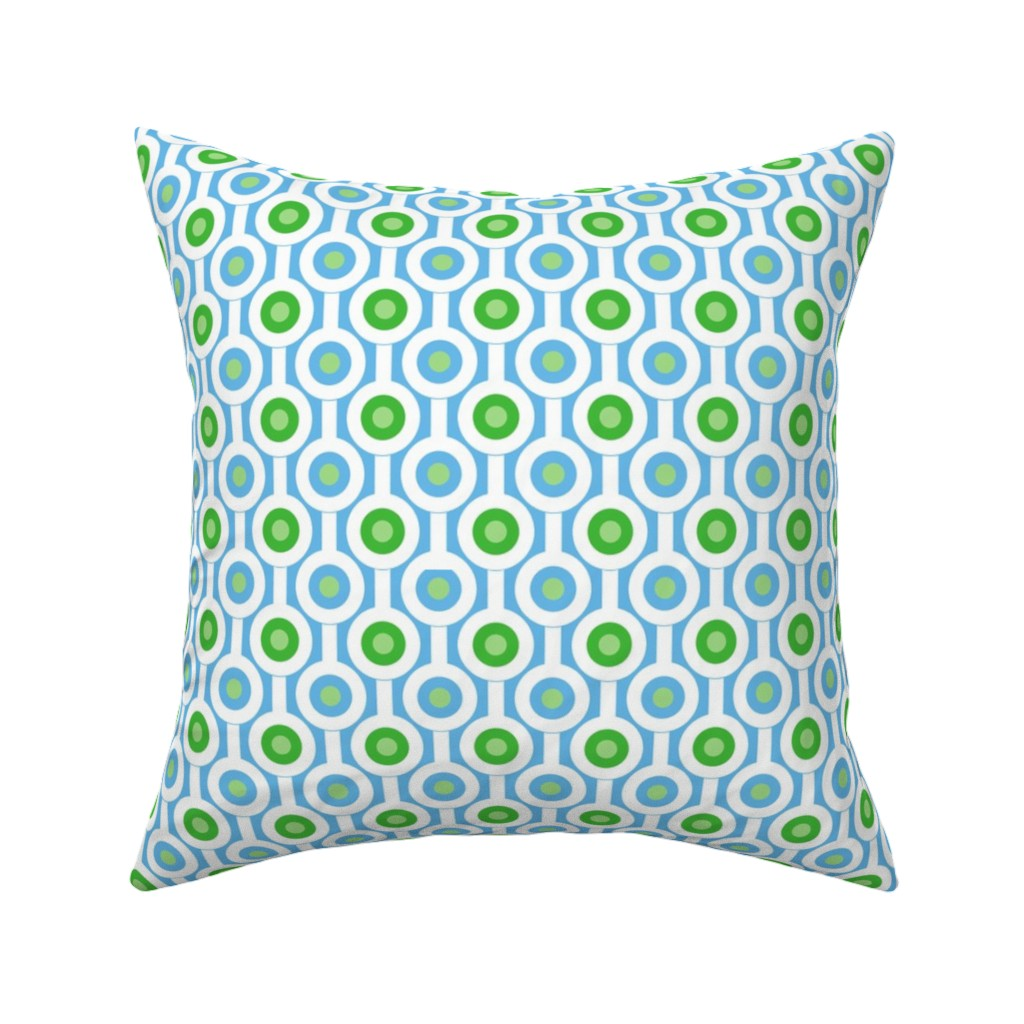 contemporary throw pillow