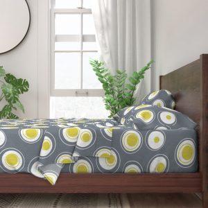 hard boiled egg sheet set