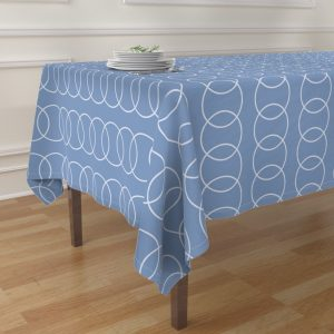contemporary table cloth