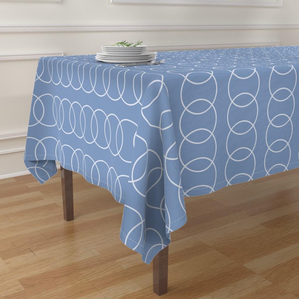 contemporary table cloth