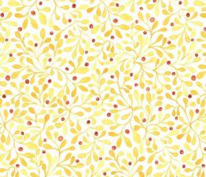 fall berries fabric design