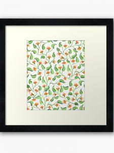 jewel weed framed art