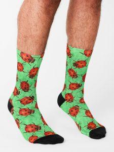ladybug-socks