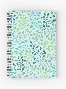 leafy love spiral journal