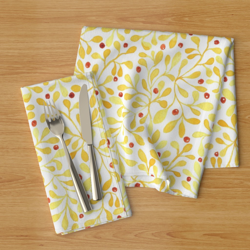 meadow berries napkins