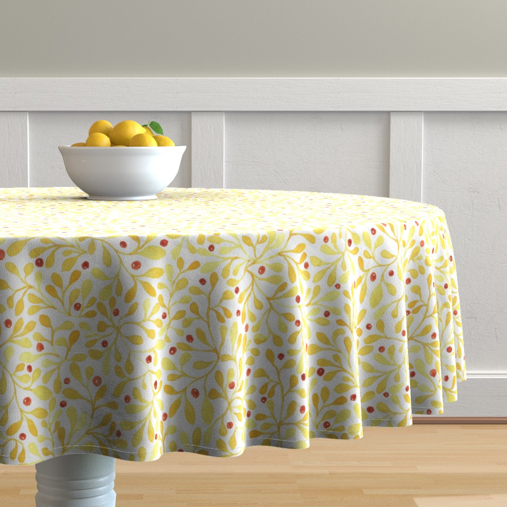 meadow berries table cloth