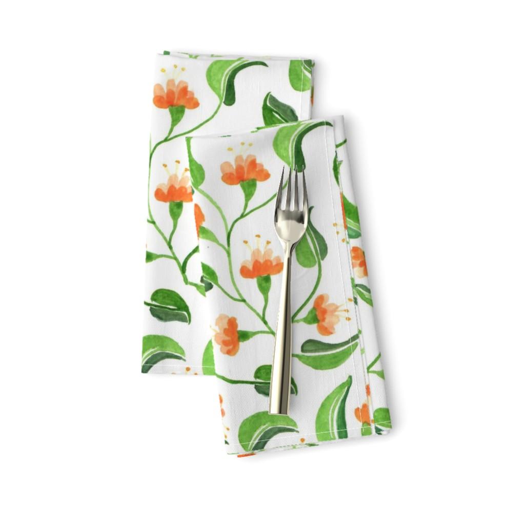 Jewel weed napkins