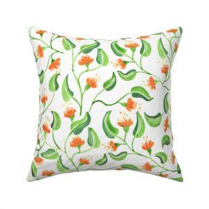 jewel weed throw pillow
