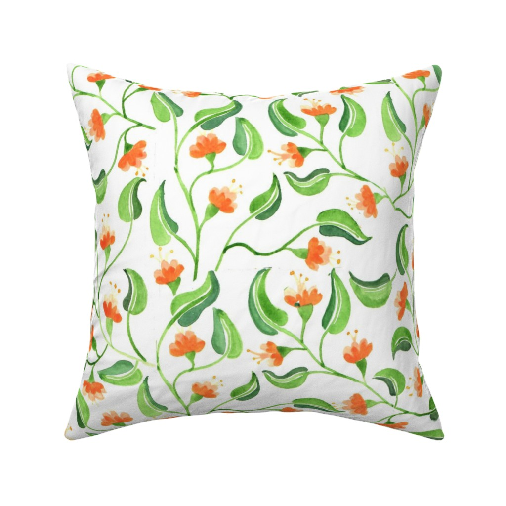 jewel weed throw pillow