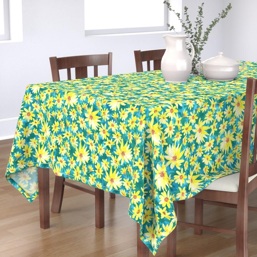 prairie dock table cloth