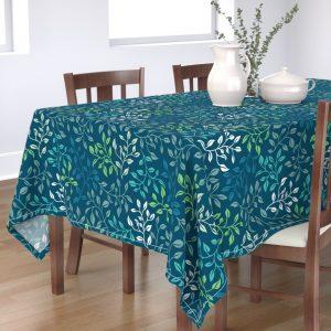 leafy lovilness table cloth