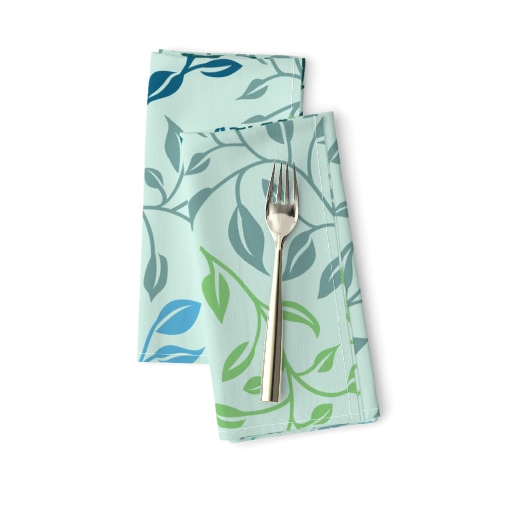 leafy lovilness napkins