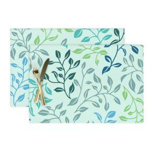 leafy lovilness place mats
