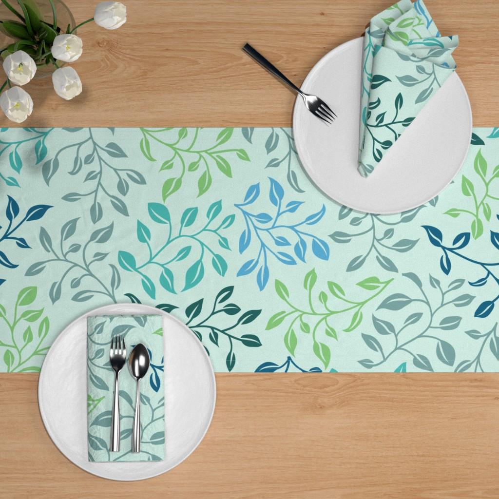 leafy lovilness table runner