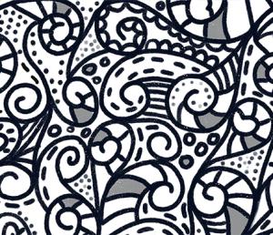boho spirals