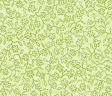spring green fabric