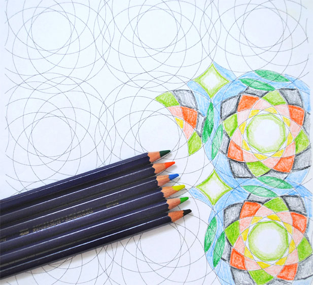 geometric coloring sheets