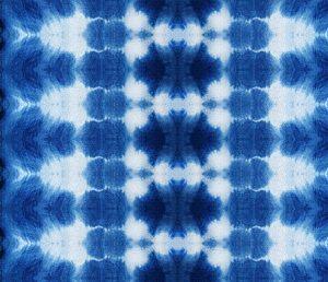 indigo bliss tie dye pattern design