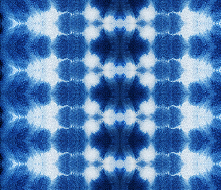 indigo bliss tie dye pattern design