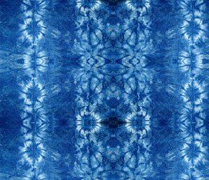 tie dye flower stripes pattern design