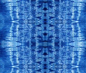 indigo water tie dye pattern design