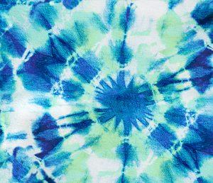 indigo green ink splat tie dye patttern design