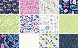 springtime fabric collection