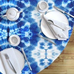 third eye tie dye tablecloth