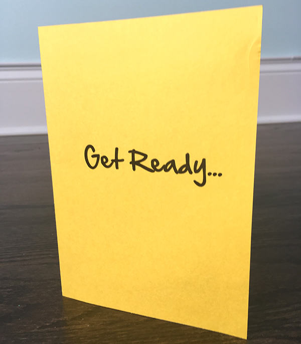 get ready card