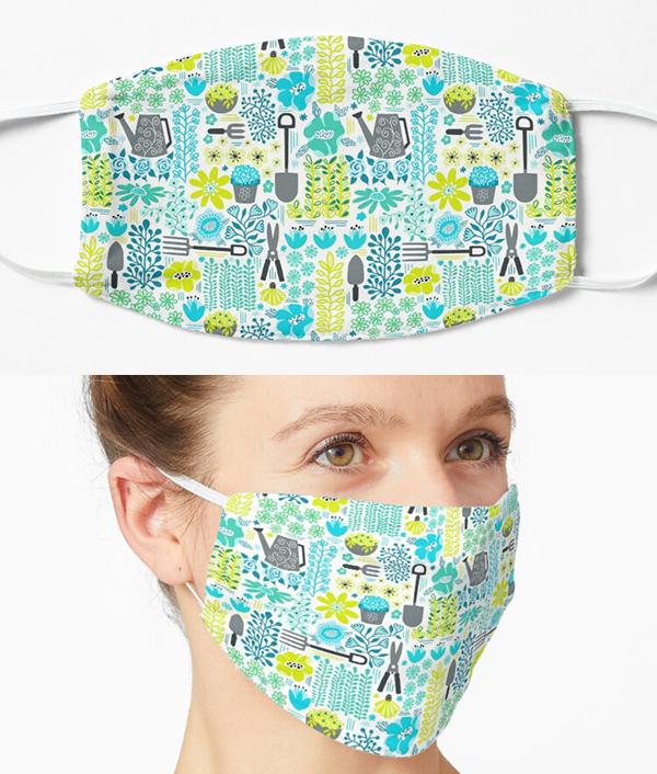 garden center mask